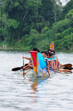 Langsuan Traditional Long Boat racing festival, Thailand Royalty Free Stock Photo