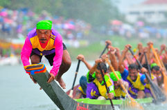 Langsuan Traditional Long Boat racing festival, Thailand Royalty Free Stock Image