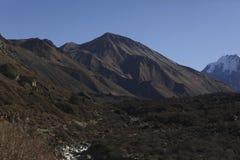 Langtang谷,尼泊尔 免版税图库摄影