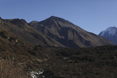 Langtang dolina, Nepal Fotografia Royalty Free
