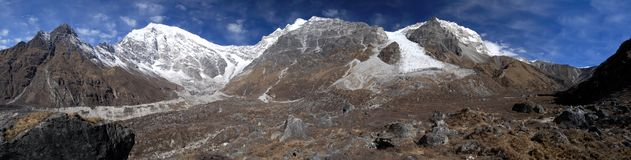 Langtang Himal Royalty Free Stock Photography
