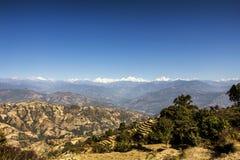 Langtang Himal Royalty-vrije Stock Afbeeldingen