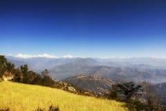 Langtang Himal Royalty-vrije Stock Fotografie