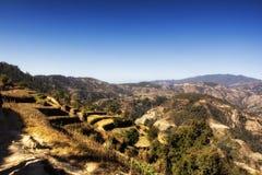 Langtang Himal Stock Photo