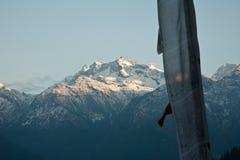 Langtang mountains Stock Photos