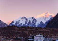 Langtang, Nepal imagen de archivo