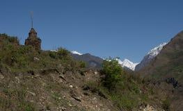 Langtangdorp, Nepal Royalty-vrije Stock Afbeeldingen