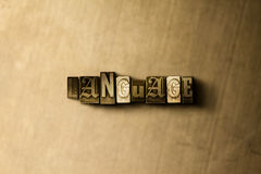 LANGUAGE - close-up of grungy vintage typeset word on metal backdrop. Royalty free stock - 3D rendered stock image.  Can be used for online banner ads and Stock Image