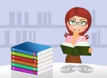 Language course. Cute illustration of language course Stock Photo