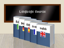 Language course Stock Image