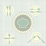 The language of Cutlery Royalty Free Stock Images