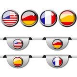 Language pointer for web Royalty Free Stock Photos