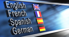 Language School Stock Images