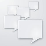 Language and speech bubbles Stock Image