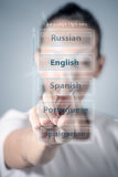 Language Stock Photo