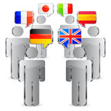 Languages concept. Royalty Free Stock Photos