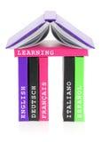 Languages school Stock Photo