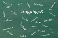 Languages Royalty Free Stock Photos