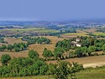 Languedoc krajobrazu obraz royalty free