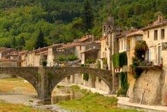 Languedoc Rousillon in de zomer Stock Foto's