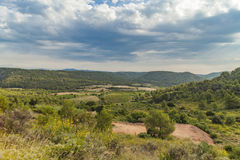 Languedoc-Roussillon province in France Royalty Free Stock Photos