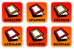 Langues Photo stock