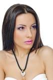 Languettes et paupières violettes photos stock