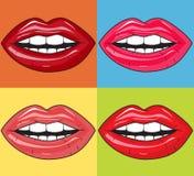 Languettes juteuses Image libre de droits