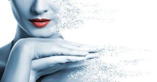 Languettes rouges Image stock