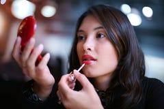 Languettes rouges Photos stock