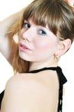 Languishing  beauty Royalty Free Stock Photo