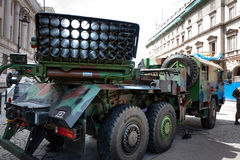Langusta WR40 artillery Royalty Free Stock Photo