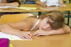 Langweilige Schule lizenzfreie stockfotografie