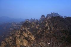 Langya Mountain,China Royalty Free Stock Photography