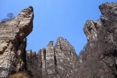 Langya Mountain,China Royalty Free Stock Photos