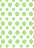 Langzaam verdwenen groene bloesems Royalty-vrije Stock Foto's