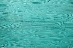 Langzaam verdwenen het blauw schilderde houten textuur, achtergrond en behang Royalty-vrije Stock Foto
