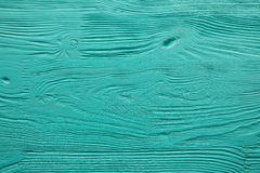 Langzaam verdwenen het blauw schilderde houten textuur, achtergrond en behang Stock Afbeeldingen