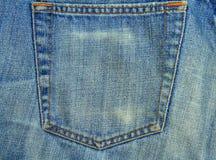 Langzaam verdwenen Jeans Royalty-vrije Stock Fotografie
