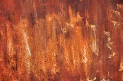 Langzaam verdwenen roestige oppervlakte 2 Stock Fotografie