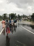 Langzaam verdwijnend Sri Lanka Royalty-vrije Stock Foto
