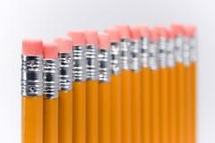Langzaam verdwijnende potloden Royalty-vrije Stock Afbeelding