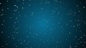 Langzame Abstracte deeltjesanimatie royalty-vrije illustratie