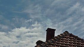 Langzame Motie van de schoorsteen de Puffende Rook stock video