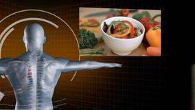 Langzame motie van groentenvideo's stock videobeelden