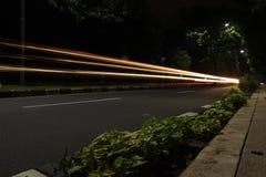 Langzame snelheid op de straat royalty-vrije stock foto