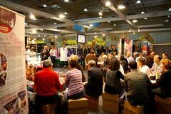 Langzame Voedsel en Terra Madre. Salone del Gusto 2008 Stock Afbeeldingen