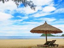 戴Lanh海滩, Khanh Hoa,越南 免版税库存照片