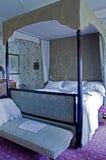 Lanhydrock Domowa Mistrzowska sypialnia Fotografia Royalty Free