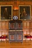 Lanhydrock galerii gabineta pokój Fotografia Royalty Free